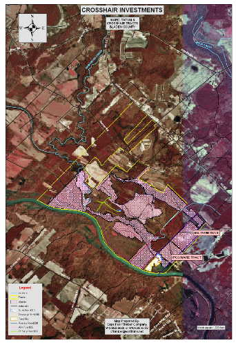 Cape Fear Timber Company GIS Mapping